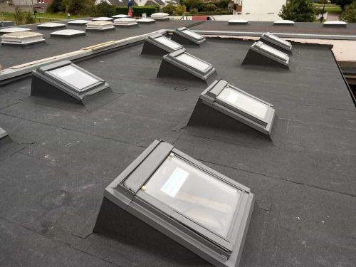 Flat roof repairs alberta